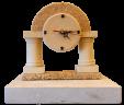 Clock model temple