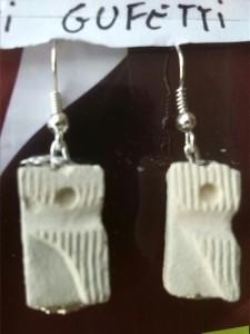 orecchini in pietra leccese