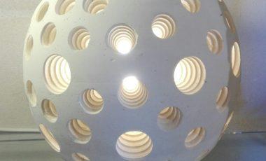 Lampada sfera diametro 15