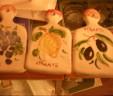 Scratch garlic handmade pottery